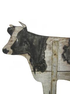 Wood Cow Weathervane - 476845