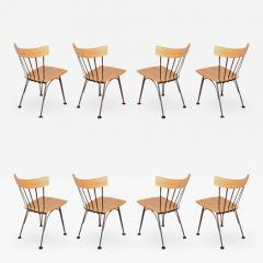 Woodard Furniture Lee L Woodard dining chairs circa 1952  - 699962