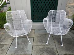 Woodard Furniture Pair of White Patio Chairs - 715403