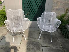 Woodard Furniture Pair of White Patio Chairs - 715404