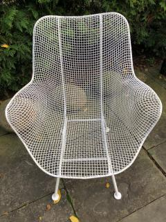Woodard Furniture Pair of White Patio Chairs - 715411