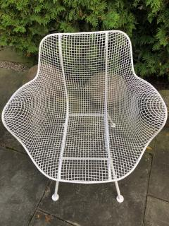 Woodard Furniture Pair of White Patio Chairs - 715412
