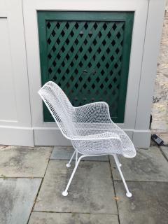Woodard Furniture Pair of White Patio Chairs - 715416