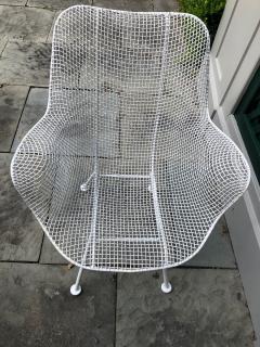 Woodard Furniture Pair of White Patio Chairs - 715419