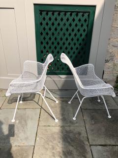 Woodard Furniture Pair of White Patio Chairs - 715420