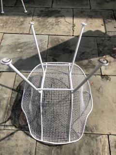 Woodard Furniture Pair of White Patio Chairs - 715423