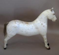 Wooden Horse with Leather Ears - 107513