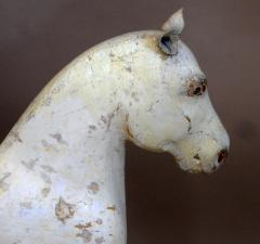 Wooden Horse with Leather Ears - 107516