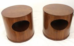 Wooden Mid Century End Tables - 124472