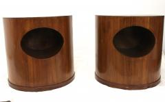 Wooden Mid Century End Tables - 124473
