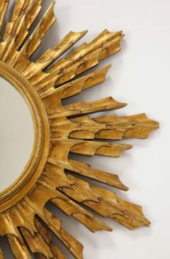 Wooden Sunburst mirror - 1714518