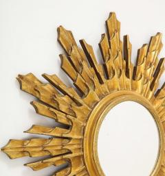 Wooden Sunburst mirror - 1714520