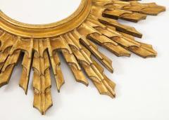 Wooden Sunburst mirror - 1714521