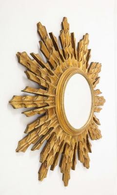 Wooden Sunburst mirror - 1714522