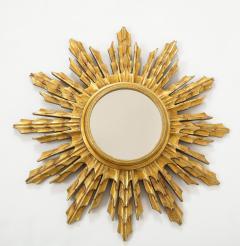 Wooden Sunburst mirror - 1714523