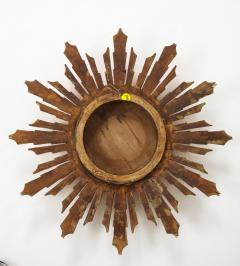 Wooden Sunburst mirror - 1714524