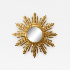 Wooden Sunburst mirror - 1718029