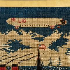Woolwork picture of the liner RMS LUSITANIA - 797315