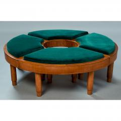Wreath Of Four Stools Italy 1930s - 918146