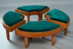 Wreath Of Four Stools Italy 1930s - 918149