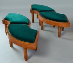 Wreath Of Four Stools Italy 1930s - 918151