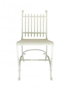 Wrought Iron French Cafe Chairs - 699291