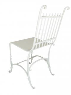 Wrought Iron French Cafe Chairs - 699299
