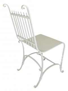 Wrought Iron French Cafe Chairs - 699301