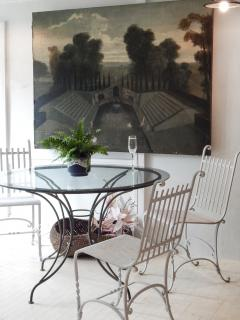 Wrought Iron French Cafe Chairs - 699303