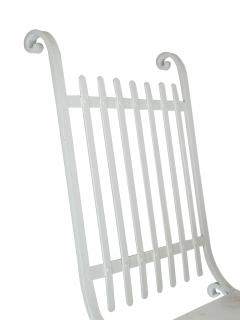 Wrought Iron French Cafe Chairs - 699304