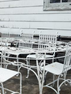 Wrought Iron French Cafe Chairs - 699307