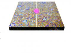 Xavier Mennessier Cosmos Console Table in Titanium by Xavier Mennessier - 505123