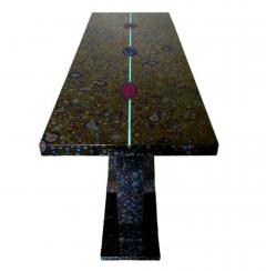 Xavier Mennessier Cosmos Console Table in Titanium by Xavier Mennessier - 505124