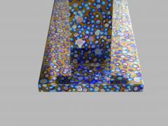 Xavier Mennessier Cosmos Console Table in Titanium by Xavier Mennessier - 505125