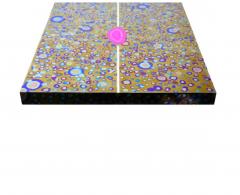 Xavier Mennessier Cosmos Console Table in Titanium by Xavier Mennessier - 505127