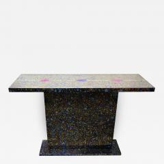 Xavier Mennessier Cosmos Console Table in Titanium by Xavier Mennessier - 505622