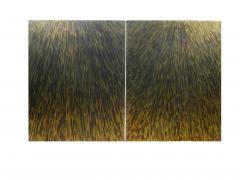 Xavier Mennessier Cube Side Table in Titanium by Xavier Mennessier - 505455