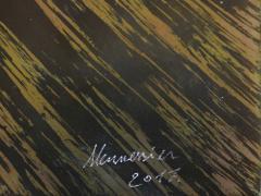 Xavier Mennessier Cube Side Table in Titanium by Xavier Mennessier - 505457