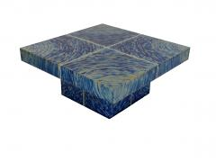Xavier Mennessier Hypnose Coffee Table in Titanium by Xavier Mennessier - 505167