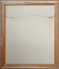 YOKO HARU Yoko Haru American 1968 Stunning Geometric Modern Op Art Acrylic on Canvas - 1903867