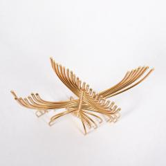 Yaacov Agam Menorah Yaakov Agam Kinetic Gold Plated Sculpture - 948657
