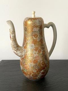Yabu Meizan Japanese Satsuma Ceramic Ewer Yabu Meizan - 1975837