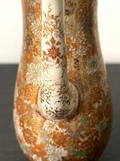 Yabu Meizan Japanese Satsuma Ceramic Ewer Yabu Meizan - 1975842