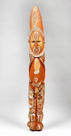 Yam Ancestor Figure Totem Pole Papua New Guinea with Provenance - 1411044