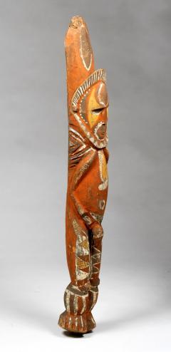 Yam Ancestor Figure Totem Pole Papua New Guinea with Provenance - 1411047