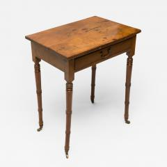 Yew Wood Side Table - 80121