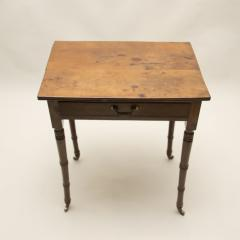 Yew Wood Side Table - 80122
