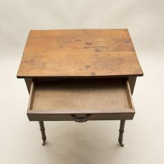 Yew Wood Side Table - 80123