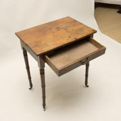 Yew Wood Side Table - 80124