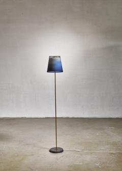 Yki Nummi Yki Nummi floor lamp with two layered shade for Orno Finland 1960s - 1085333